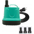 Upettools Submersible Water Pump, Ultra Silence Circulation Multifunctional Water Pump with Handle For Pond, Aquarium, Hydroponics, Fish Tank Fountain with 4.6ft (1.4M) Power Cord(220GPH,25W)